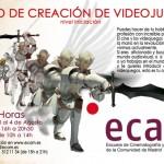 Curso de creación de videojuegos en la 'ECAM'