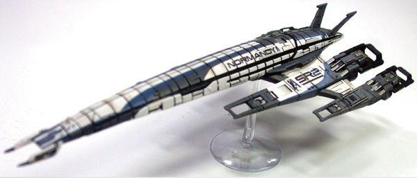 Ssv Normandy Sr 2 18 Ship Replica: Semana Mass Effect: Más Allá Del Juego