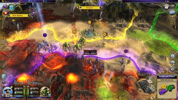 'Warlock: Master of the Arcane': fantasía medieval estilo 'Civilization' 1
