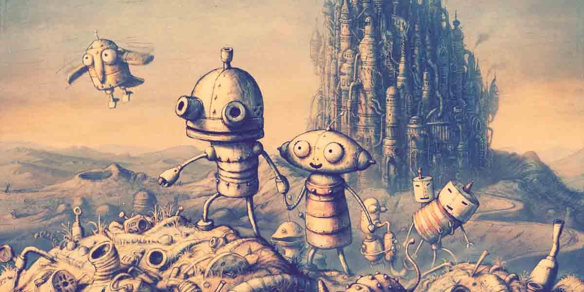 1001 Videojuegos que debes jugar: Machinarium 3