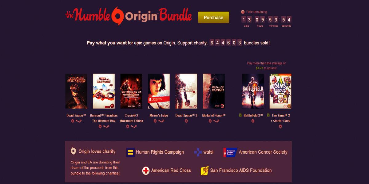 The Humble Origin Bundle 1