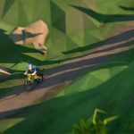 Descenso low poly con Lonely Mountains: Downhill