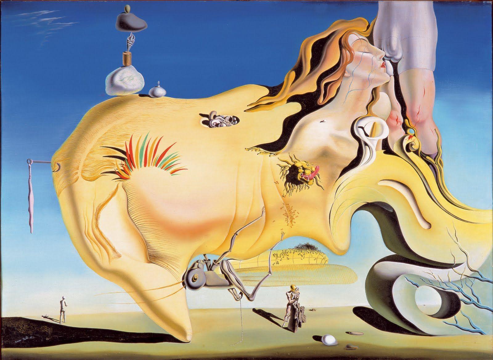 Dalí El Gran Masturbador
