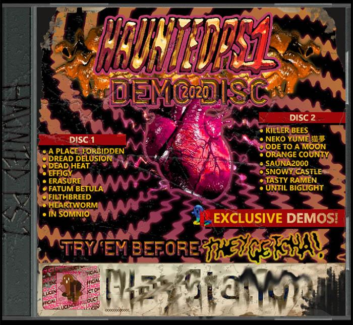 PS1 Haunted Demo Disc