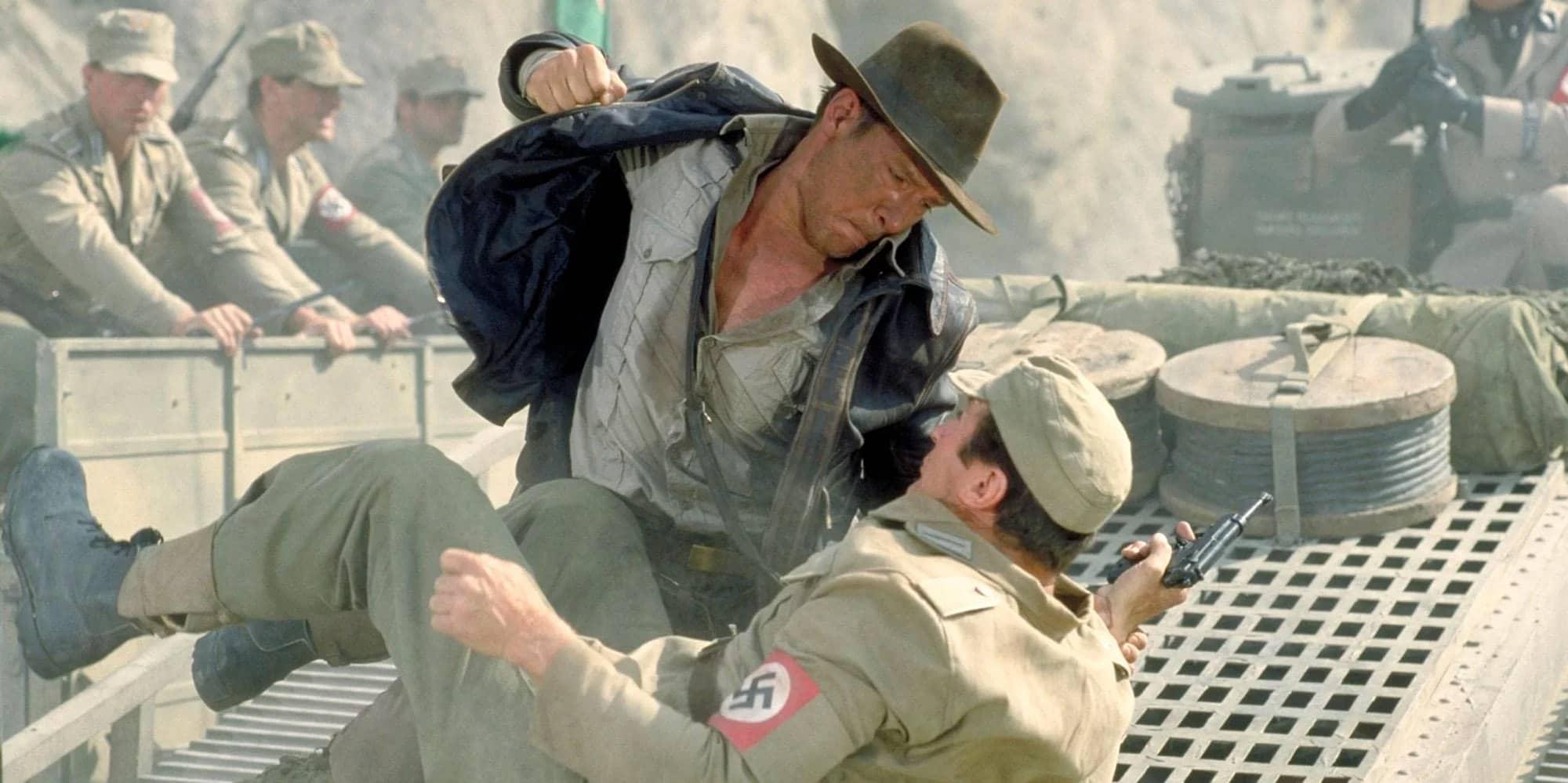 Indy hostia nazis porque es lo que hay que hacer con los nazis
